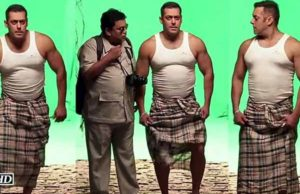 Now Audience will see Salman Khan after Shahrukh khan's Lungi Getup