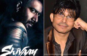 Shivaay leaked - Ajay Devgn took legal action against Kamaal R Khan
