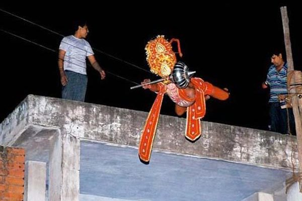 Artist Hanuman Death - fell from a height of almost 50 feet in Rajasthan