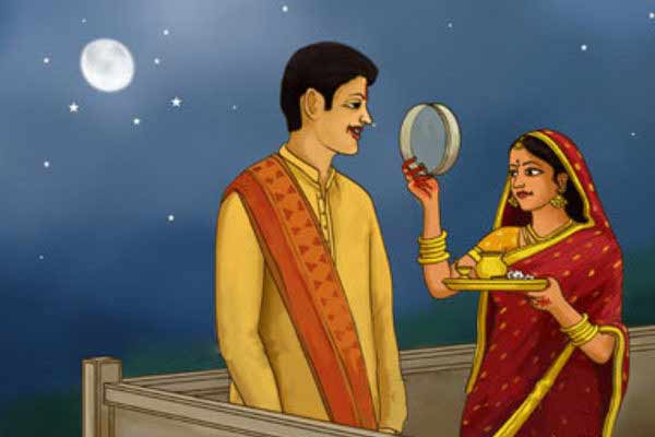 How to celebrate festival of karwa chauth - Hindu Festival After 100 years