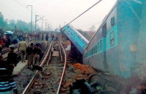Sealdah Ajmer Express train accident - 15 coaches derailed, 44 injured