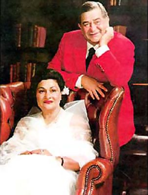 Raj Kapoor and his wife Krishna Kapoor