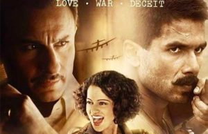Rangoon Movie Review - Saif, Kangana & Shahid Starrer are getting thumbs up