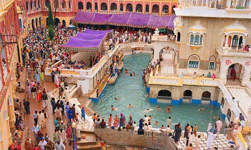 Gurudwara Panja Sahib in Pakistan.