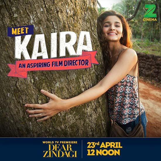 Alia Bhatt as Kiara in Dear Zindagi