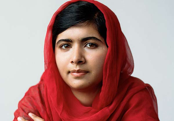 Malala Yousafzai is a noble prize winner for peace