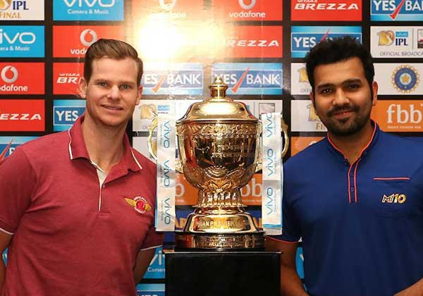 Mumbai Indians and Rising Pune Supergiants will face off in th eIPL 2017 final