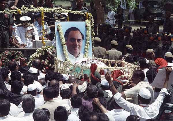 Rajiv Gandhi Funeral Live Telecast