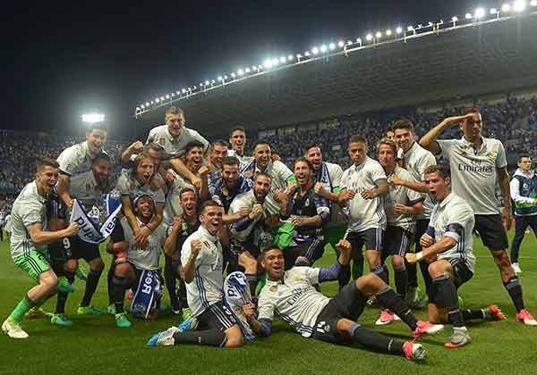 Real Madrid wins La Liga 2017