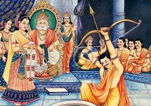 Marriage to Draupadi