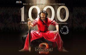 Bahubali 2 breaks all records of 1000 Crore Movie Club of Indian Cinema