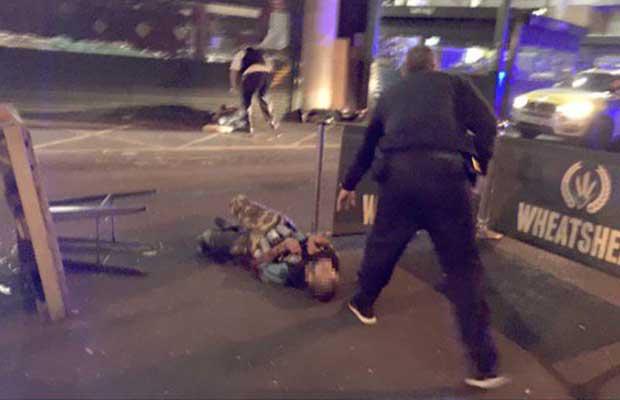 London Terror Attack by Gabriele Sciotto