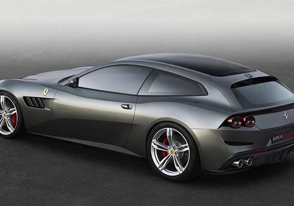 Ferrari GTC4lusso in grey
