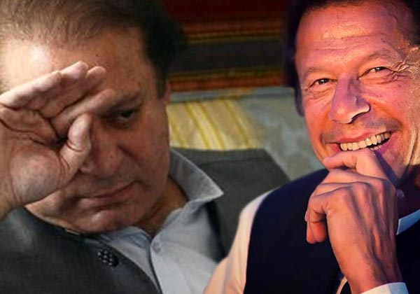 Imran Khan hailed Supreme Court's decision to disqualify Nawaz Sharif