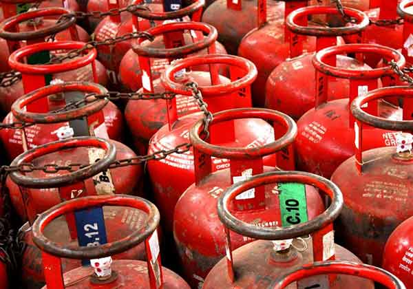 LPG cylinders hiked by Rs 4 per month