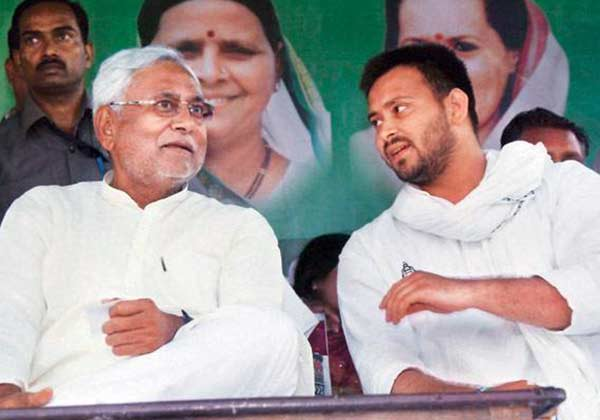 Nitish Kumar and Tejashwi Yadav faced off in Bihar assembly