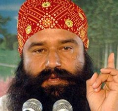 Ram Rahim convicted of raping two women in 2002.