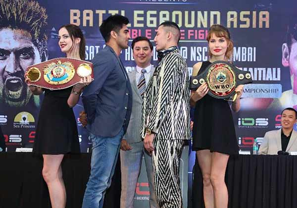 Vijender Singh will face off against Zulpikar Maimaitali
